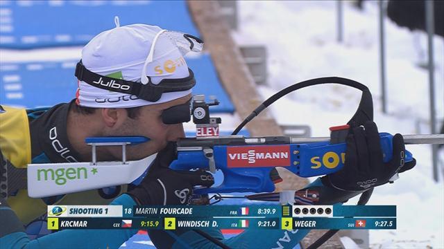 Oberhof: Martin Fourcade impone su ley superando a Svendsen y Boe