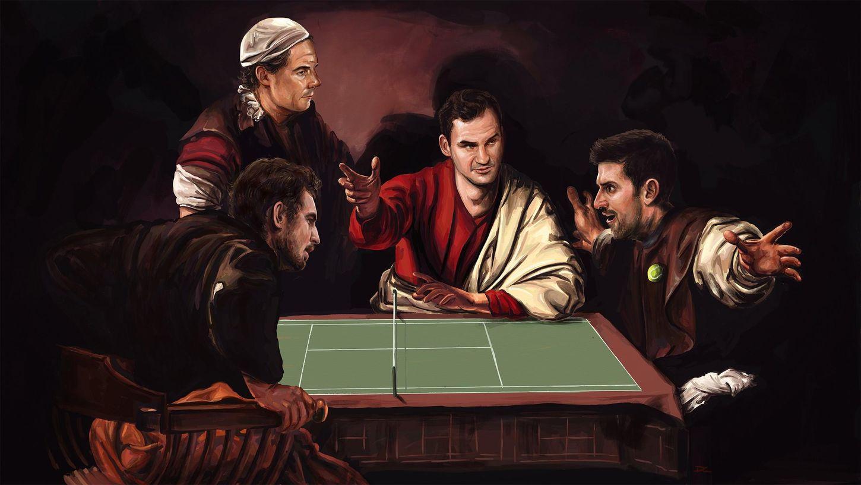 Murray, Nadal, Federer, Djokovic