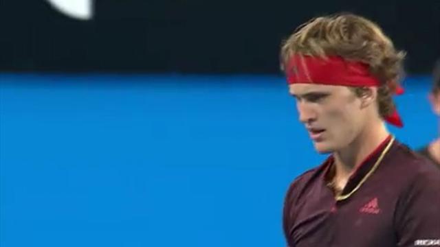 D'un superbe lob, Zverev laisse Federer sur place