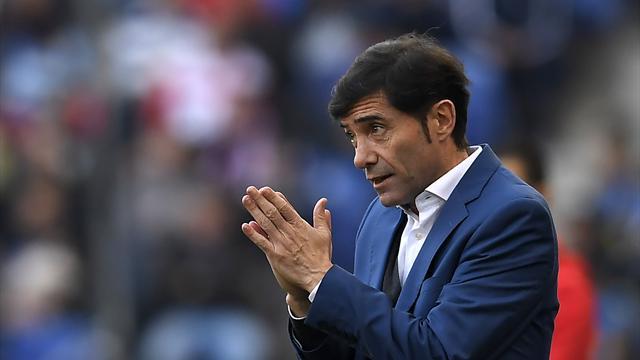 """Marcelino: """"La victoria ante el United ayuda a los jugadores a confiar en ellos mismos"""""""