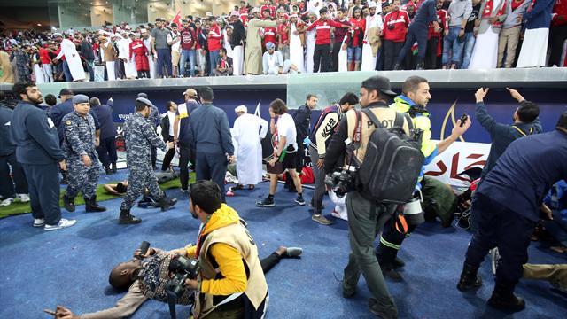 Chute d'une barrière dans un stade au Koweït, au moins 40 blessés