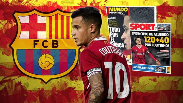Euro Papers: Coutinho pays £13m towards £142m transfer to Barcelona