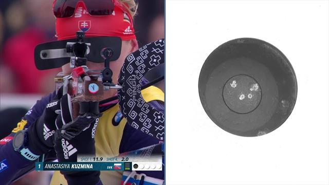 Anais Chevalier et l'équipe de France remportent le relais féminin d'Oberhof — Biathlon