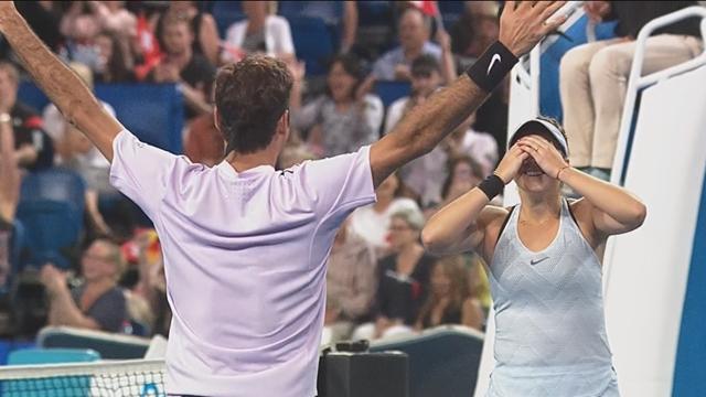 Федерер опять что-то выиграл. Лучшие моменты финала Кубка Хопмана