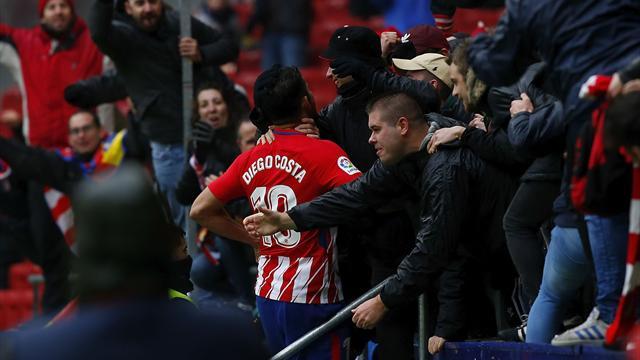 L'Atletico ne lâche rien et Diego Costa fait déjà reparler de lui