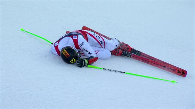 Hirscher survives dramatic finish to claim Giant Slalom victory in Adelboden