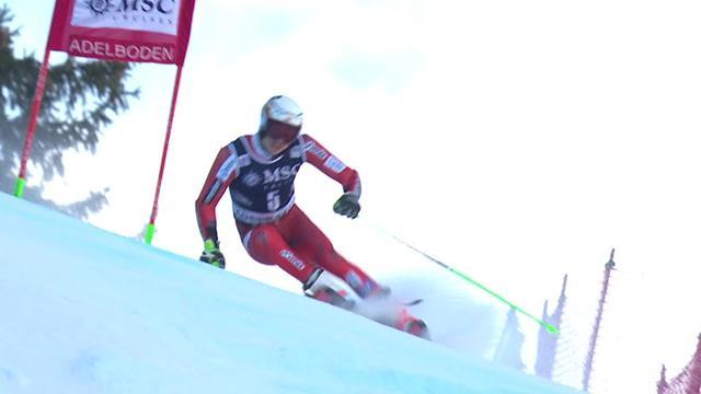 Watch Krisstoferssen's storming run in Adelboden