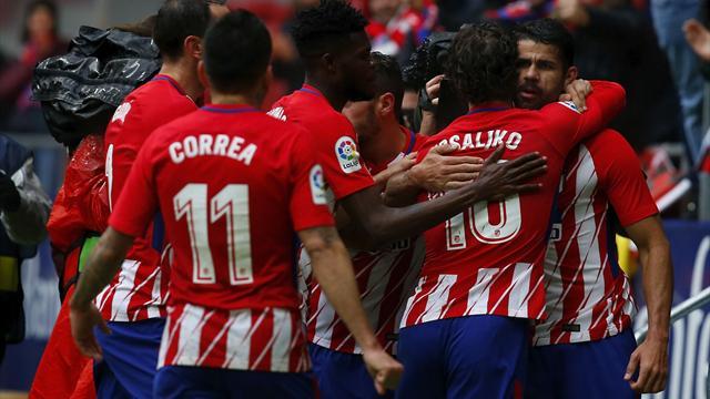 El Atleti recurre la segunda cartulina amarilla de Diego Costa ante el Getafe