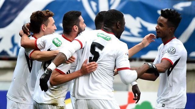 Lille s'en sort au Mans, Montpellier en prolongation à Pontarlier, Toulouse sort Nice