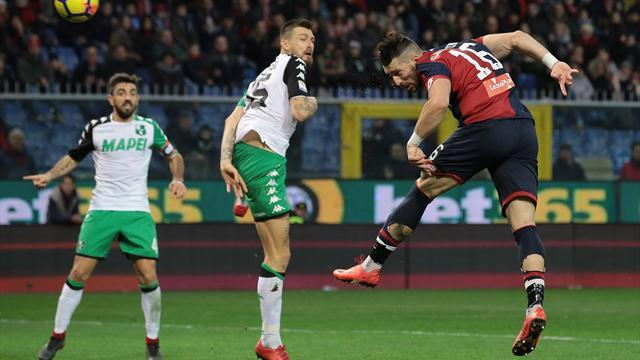 Genoa col Sassuolo senza Izzo e Veloso. Ballardini: