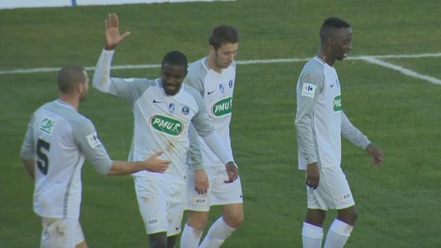 Surprise : grâce à deux jolis buts, Grenoble s'offre le scalp du Gazélec