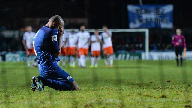 Montpellier a dû passer par les tirs au but pour se défaire de Pontarlier