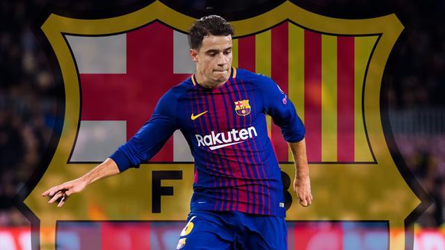 Philippe Coutinho ya es nuevo jugador del Barcelona