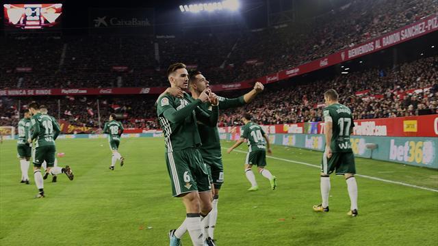 Le Betis s'offre un derby de folie à Séville