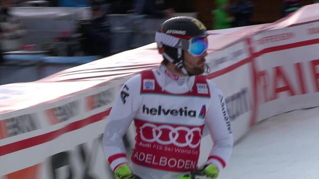 Adelboden: Hirscher manda el primer aviso a Matt y Kristoffersen en el eslalon