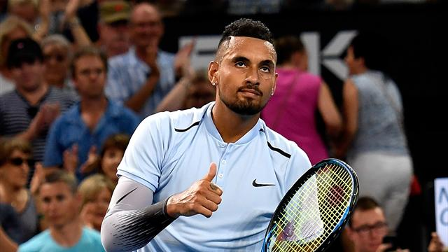 Sealed with an ace - Kyrgios takes Brisbane title in impressive fashion