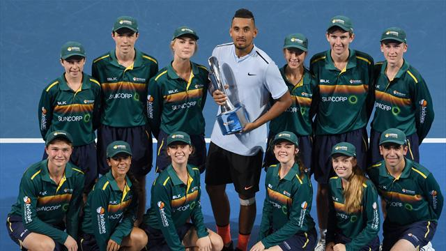 Kyrgios gets Brisbane title boost ahead of Australian Open