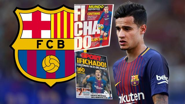 Euro Papers: Heads roll at Barcelona to make way for Coutinho