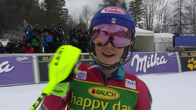 Sublime Shiffrin underlines slalom dominance with huge World Cup victory