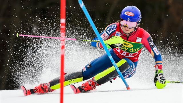 Kranjska Gora: Mikaela Shiffrin no tiene rival en el eslalon