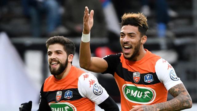 Lorient suit la cadence des leaders