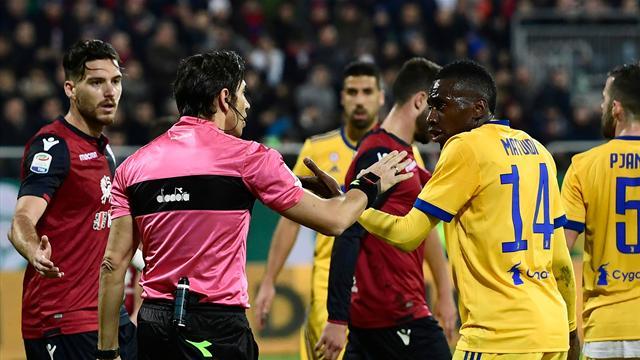 «Tu es un exemple pour les jeunes» : Cagliari présente des excuses à Matuidi