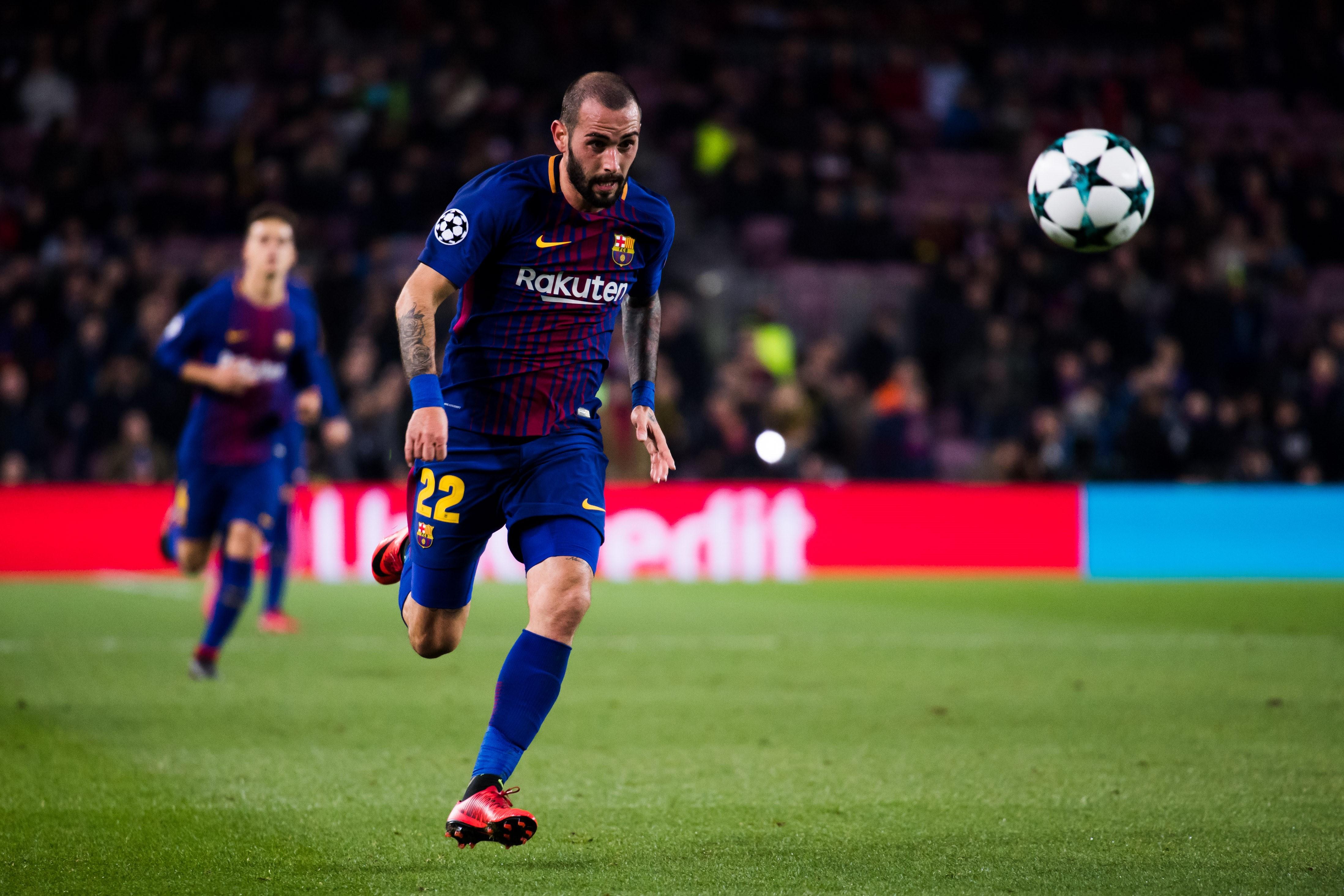 Aleix Vidal, FC Barcelona