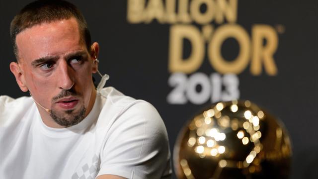 Ribéry n'a toujours pas digéré le Ballon d'Or 2013 : «Comme si c'était un vol»