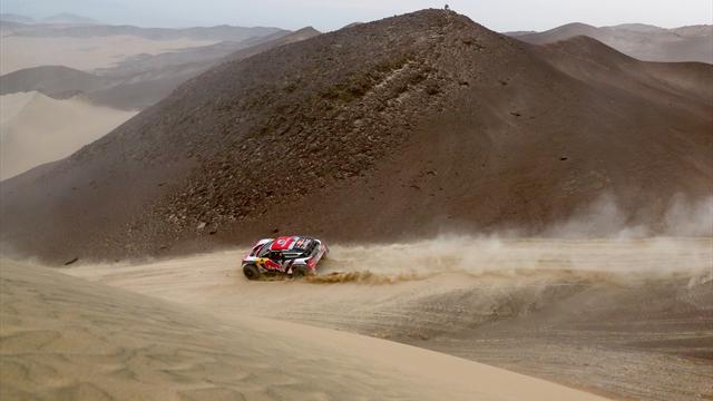 Despres puts Peugeot into the Dakar lead in Peru