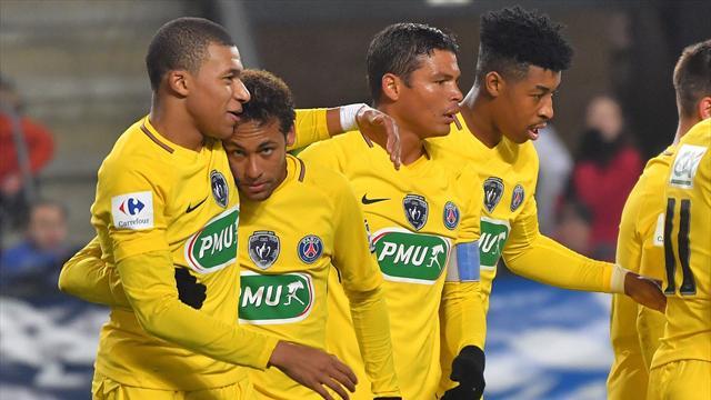 Spectacle et humiliation, le PSG a éparpillé Rennes façon puzzle