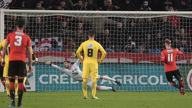 Une main de Motta et Bourigeaud a «sauvé l'honneur» : le but du 4-1