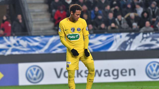 Des jambes de feu et une technique soyeuse : le match de Neymar en caméra isolée