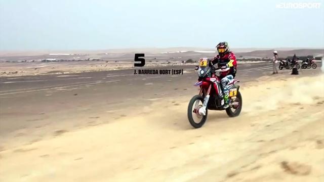 Dakar moto, tris Barreda; Van Beveren torna leader