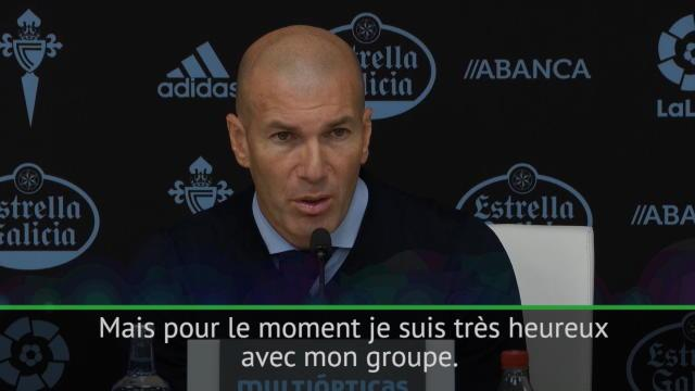 Zidane : »Je ne veux personne»