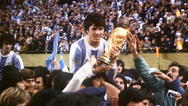 Il y a 40 ans, l'Argentine gagnait sa première Coupe du monde