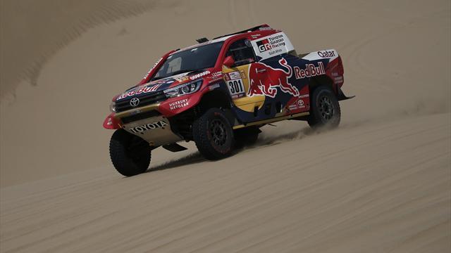 Al-Attiyah (Toyota) gana tercera etapa y Peterhansel (Peugeot) lidera el Dakar