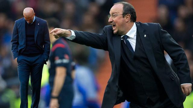 Zidane empeora los números en Liga que provocaron la destitución de Benítez