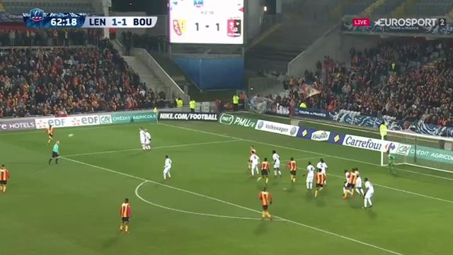 Diarra surprend le gardien de Boulogne avec un coup franc direct : le but du 2-1