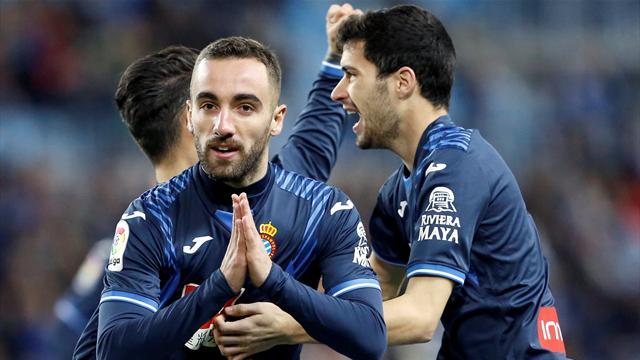 LaLiga, Málaga-Espanyol: Darder hunde a Míchel (0-1)