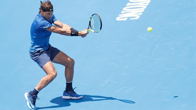 Rafael Nadal perdió su primer partido del año