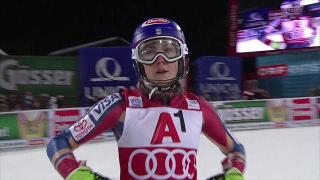 Shiffrin remporte le slalom de Flachau, sa 41e victoire — Ski