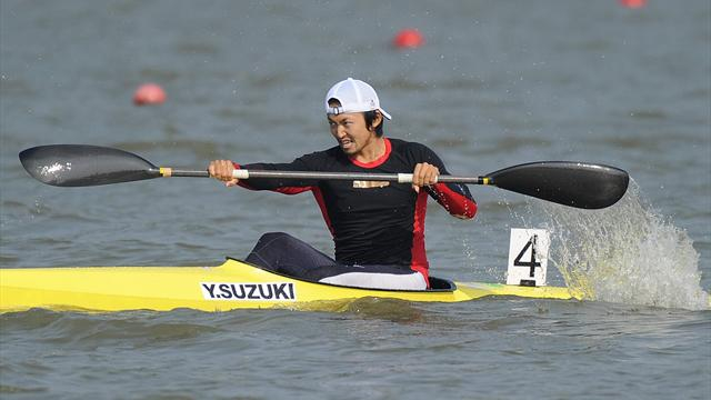 Japanese kayaker gets eight-year ban for spiking rival's drink