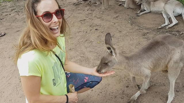 Dans la vie d'Alizé Cornet, épisode 3 : avant Melbourne, les kangourous et la Tasmanie
