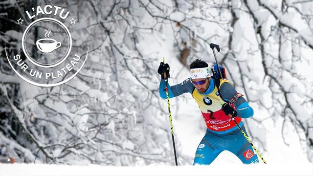 Un podium pour Quentin Fillon-Maillet — Biathlon