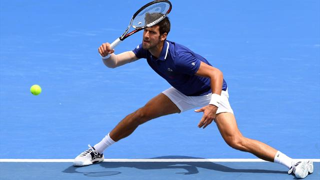 Injured Djokovic admits 'I'm not 100 per cent'