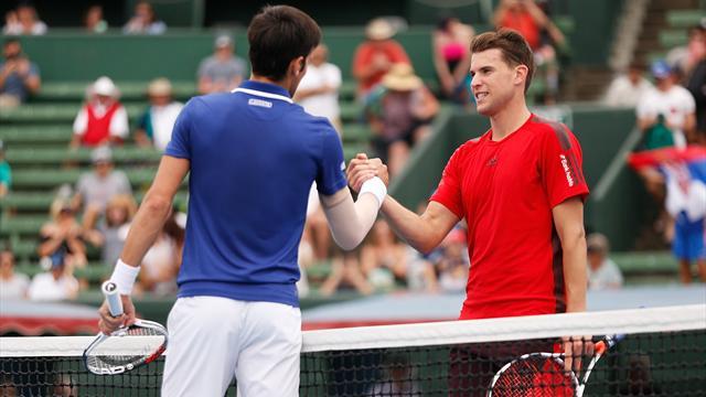 Djokovic «très très heureux» après son retour victorieux contre Thiem