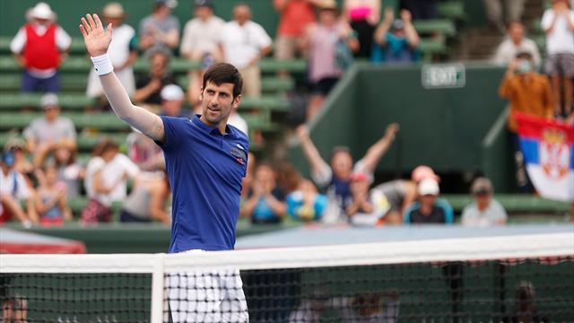 Volvió Djokovic: