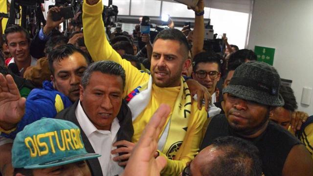 Comme une rockstar, Ménez a fait ses premiers pas au Mexique