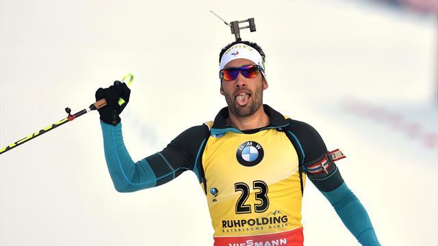 Ruhpolding (20 km): et de quatre pour l'intouchable Martin Fourcade
