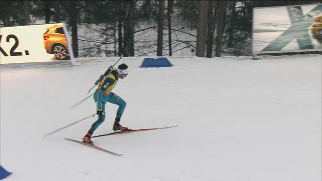 Dominant Fourcade victorious in Ruhpolding